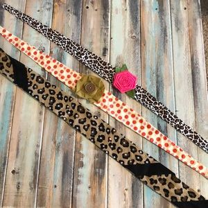 Accessories - 3 adorable headbands from local boutique